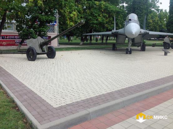 Укладка тротуарной плитки, г. Армавир